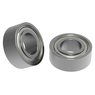 "1/4"" ID x 1/2"" OD Non-Flanged Ball Bearing (2 pack)"