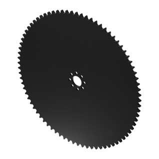 """80 Tooth 0.770"""" Acetyl Hub Mount Sprockets 0.250"""" Pitch"""