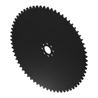 """66 Tooth 0.770"""" Acetyl Hub Mount Sprocket 0.250"""" Pitch"""