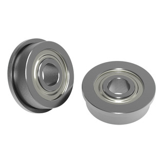 4mm ID x 12mm OD Flanged Ball Bearing (2 pack)