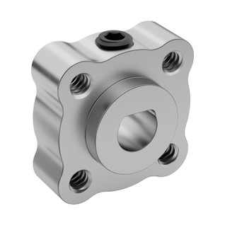 "6mm Bore Set Screw D-Hub (Tapped), 0.770"" Pattern"