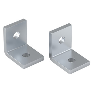 "3/8"" x 3/8"" 90° X-Rail Bracket (2 pack)"
