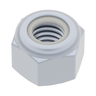 2812-0004-0007 - M4 x 0.7mm Nylock Nut (25 Pack)