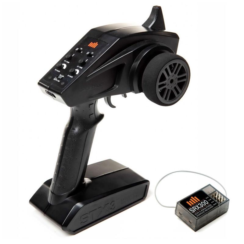Spektrum™ STX3 Transmitter w/SRX300 Receiver