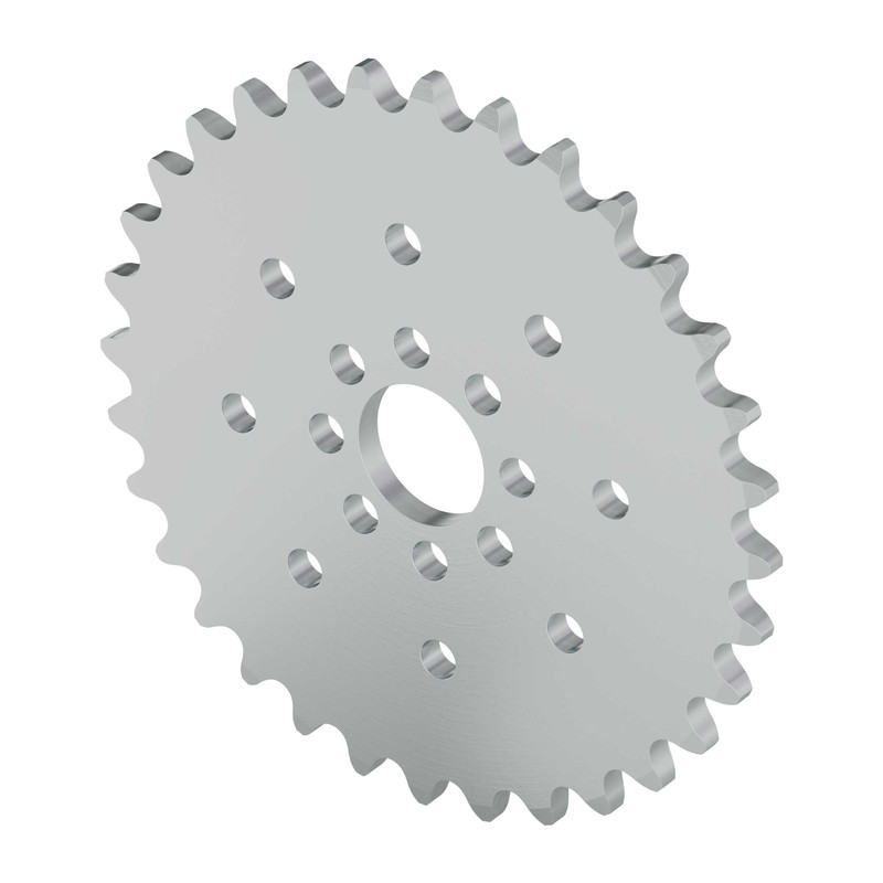 "32 Tooth 0.770"" Aluminum Hub Mount Sprocket 0.250 Pitch"