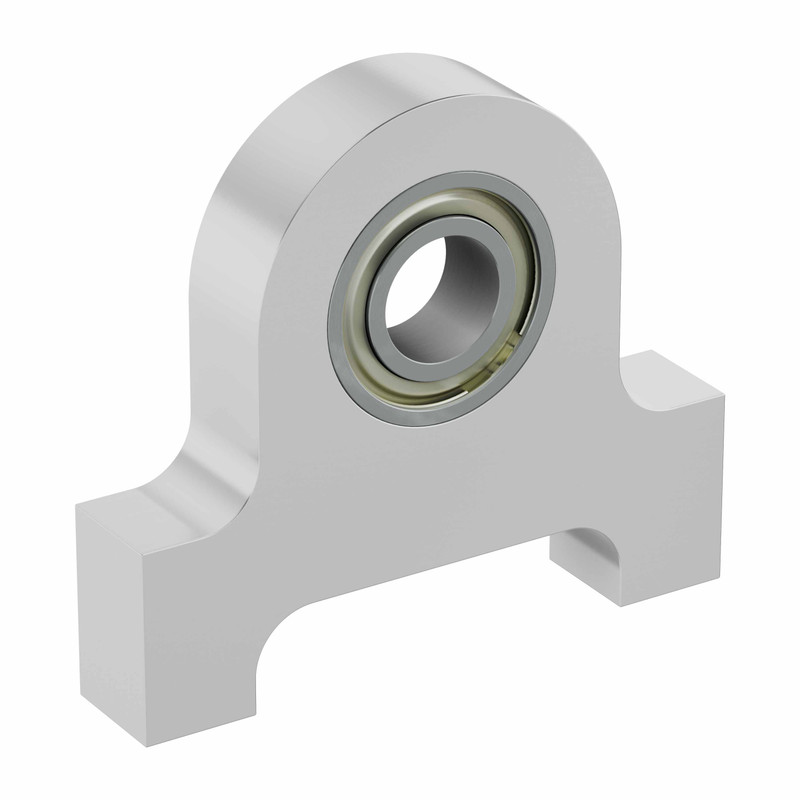 "1/4"" Bore Bottom Tapped Pillow Block"