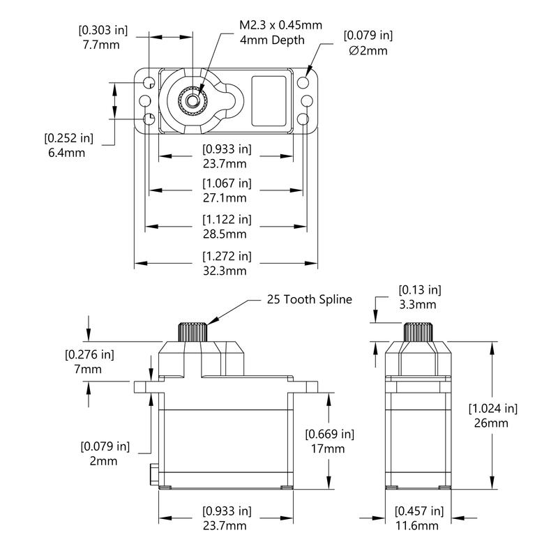 HS-5065MG Schematic