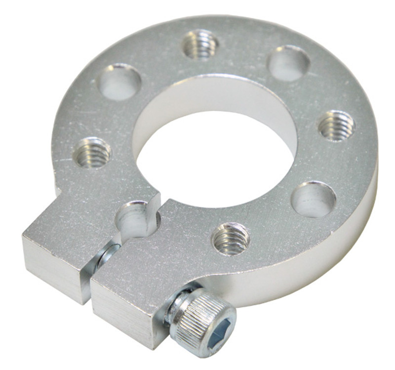 """1"""" Bore, Face Tapped Heavy Duty Clamping Hub, 1.50"""" Pattern"""