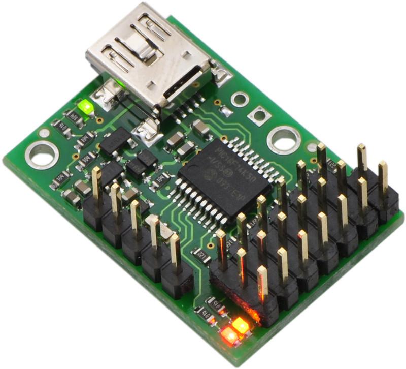 Micro Maestro 6-channel USB