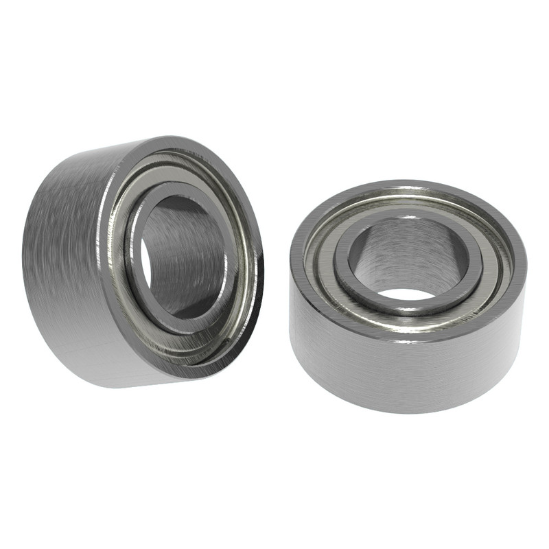 """1/8"""" ID x 1/4"""" OD Non-Flanged Ball Bearing (2 pack)"""