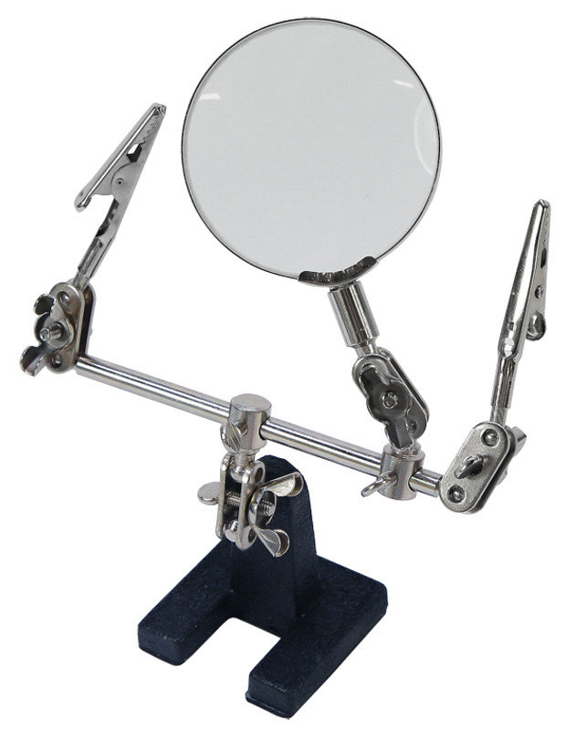 Helping Hand w/Magnifier