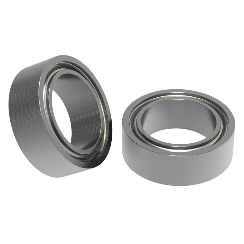 """1/4"""" ID x 3/8"""" OD Non-Flanged Ball Bearing (2 pack)"""