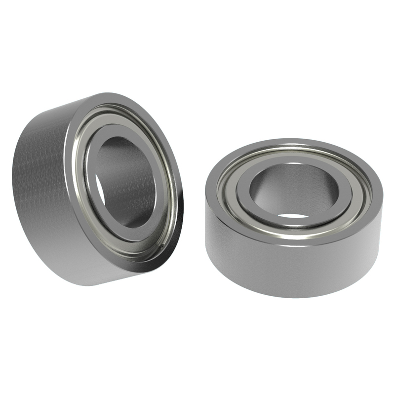 """1/4"""" ID x 1/2"""" OD Non-Flanged Ball Bearing (2 pack)"""