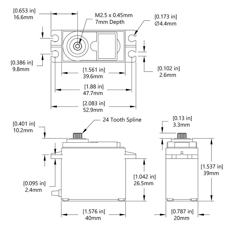 HS-7985MG Schematic