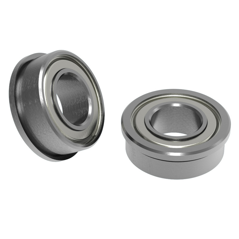"1/4"" ID x 1/2"" OD Flanged Ball Bearing (2 pack)"