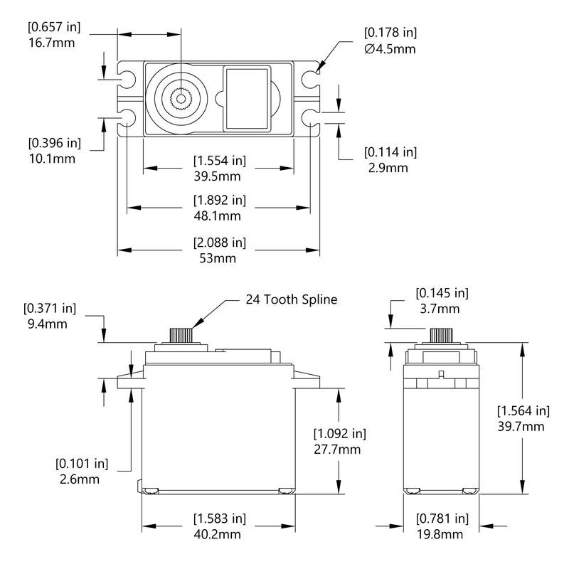 HS-485HB Schematic
