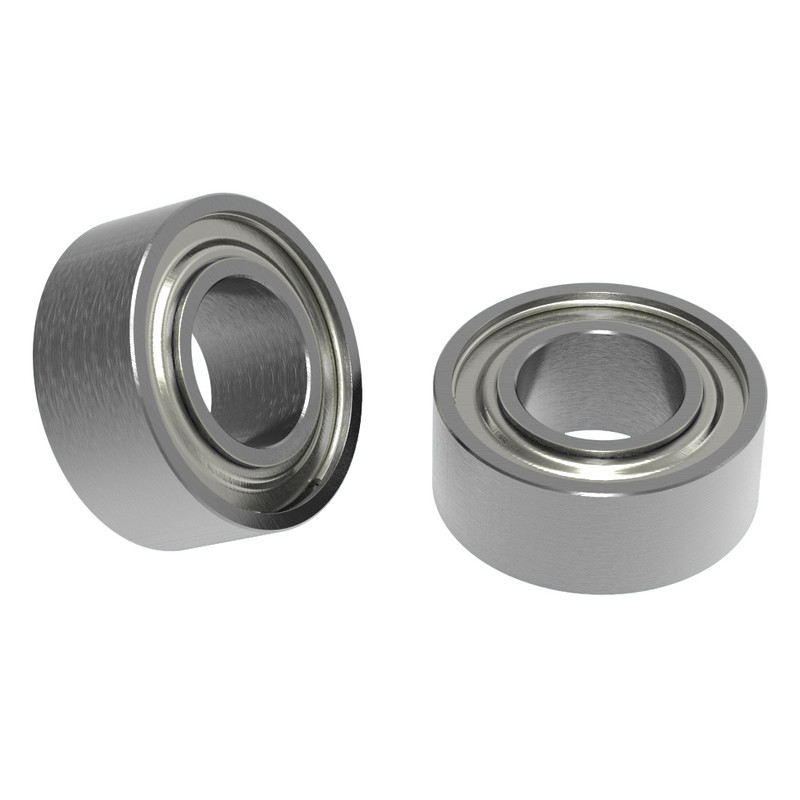 5mm ID x 10mm OD Non-Flanged Ball Bearing (2 pack)