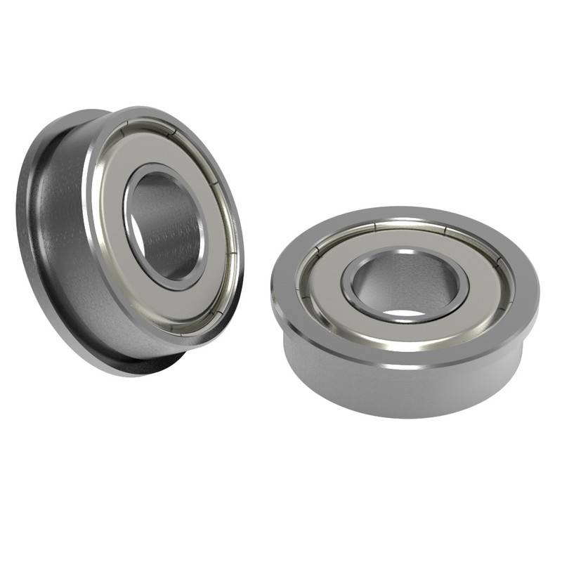 "3/8"" ID x 7/8"" OD Flanged Ball Bearing (2 pack)"