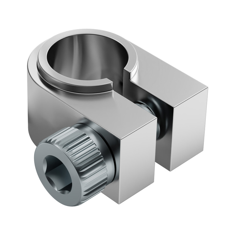 "1/4"" Flanged Aluminum Clamp Collar (2 pack)"