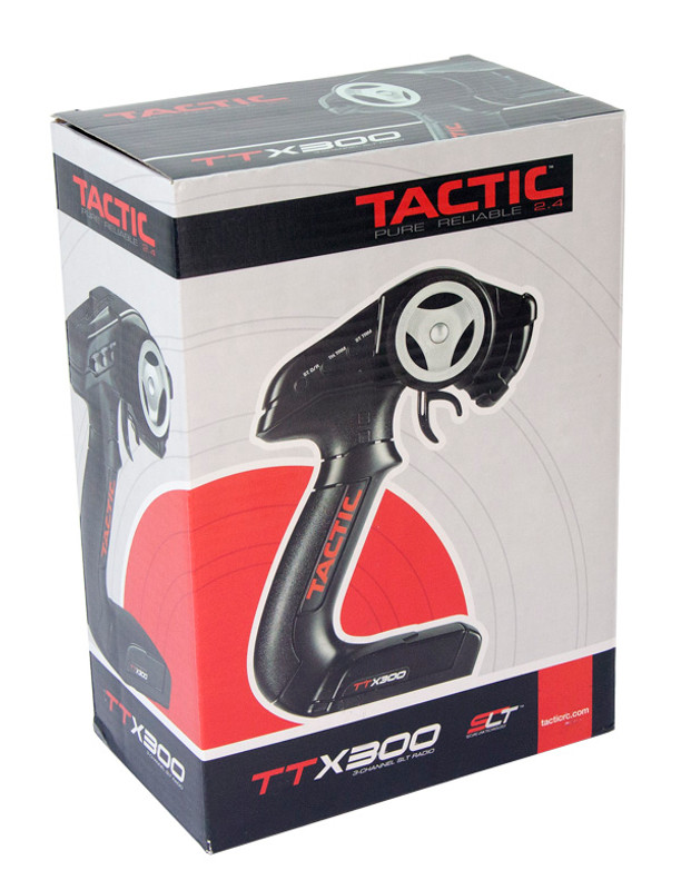 Tactic TTX300 Transmitter w/TR325 Receiver