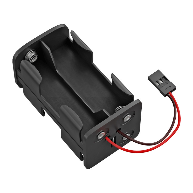 AA 4-Cell Square Battery Tray