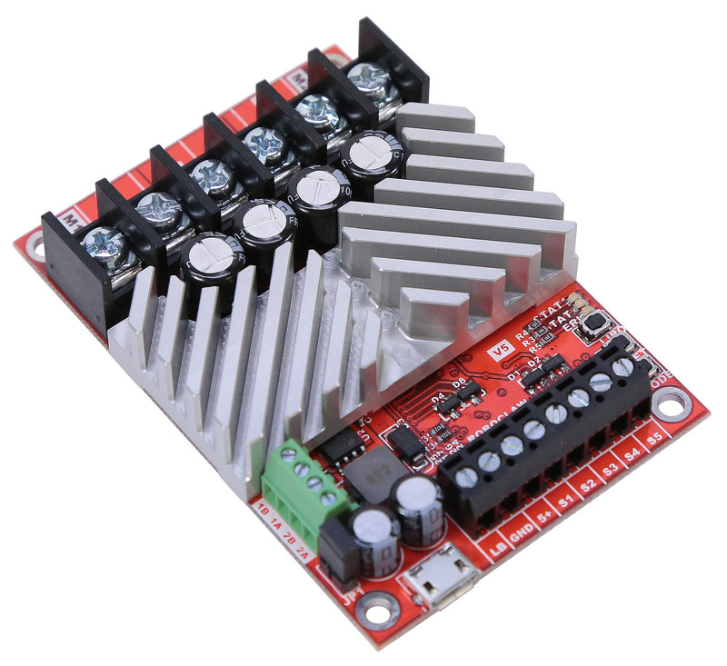 Roboclaw 2x45A Motor Controller (Screw Terminal Version)