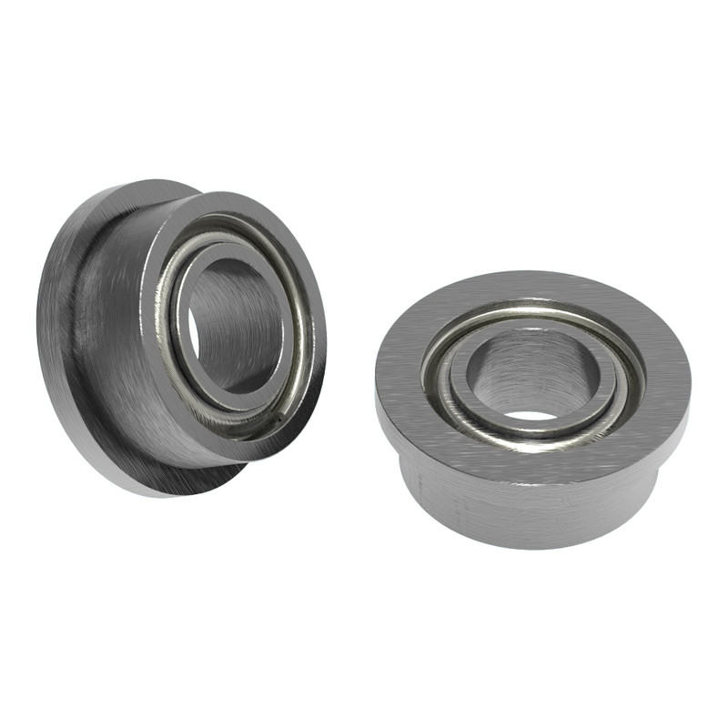"1/8"" ID x 1/4"" OD Flanged Ball Bearing (2 pack)"