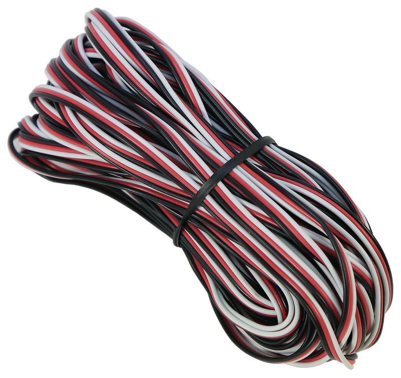 50.0' Standard Futaba Servo Wire