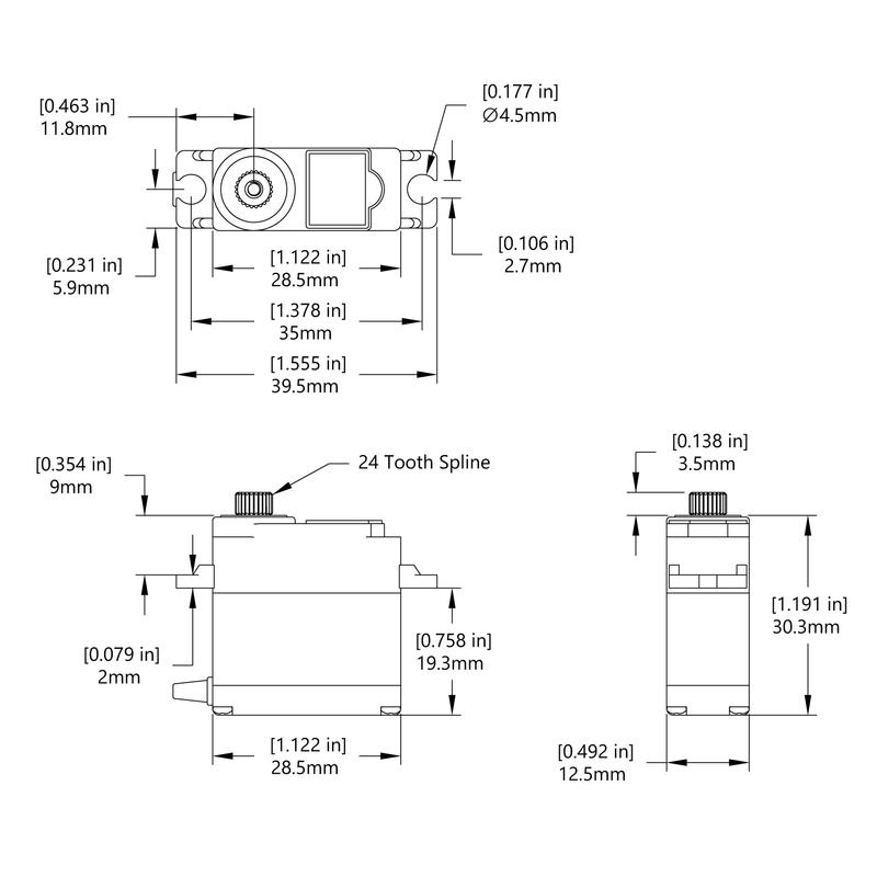 HS-5087MH Schematic