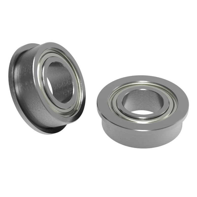 6mm ID x 12mm OD Flanged Ball Bearing (2 pack)