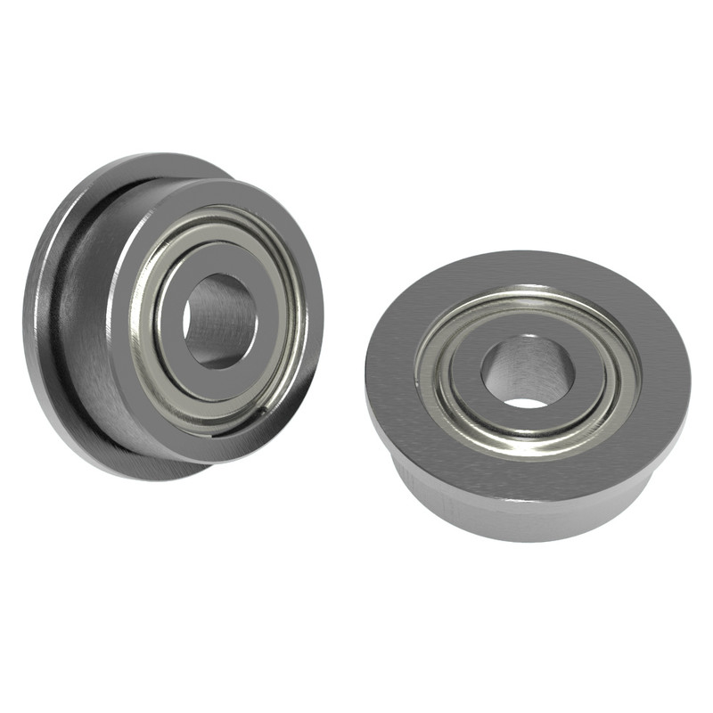 "1/8"" ID x 3/8"" OD Flanged Ball Bearing (2 pack)"