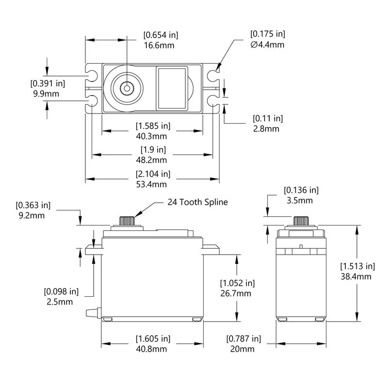 HSR-1425CR Schematic