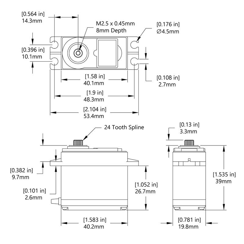 HSR-2645CRH Schematic