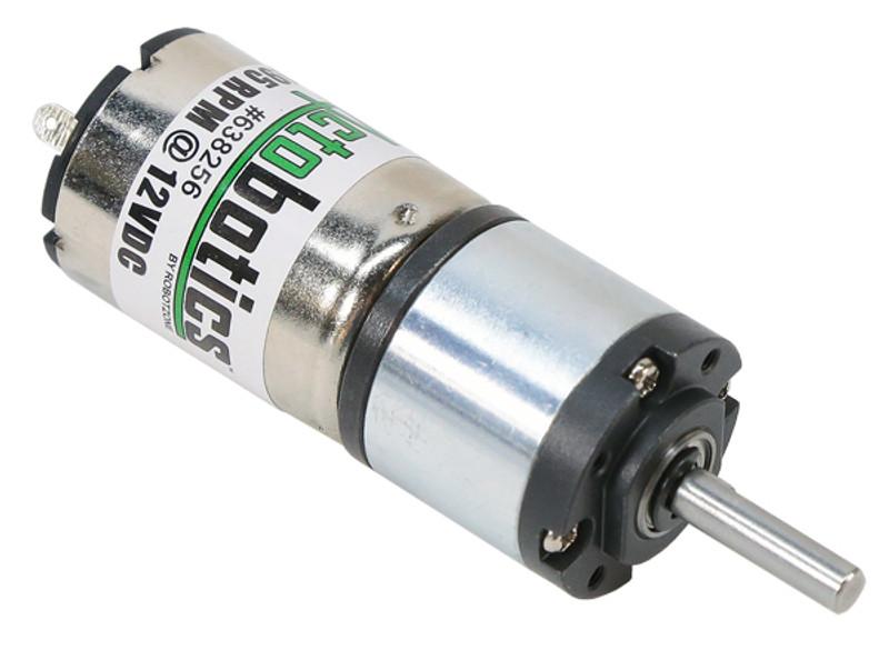 195 RPM Premium Planetary Gear Motor