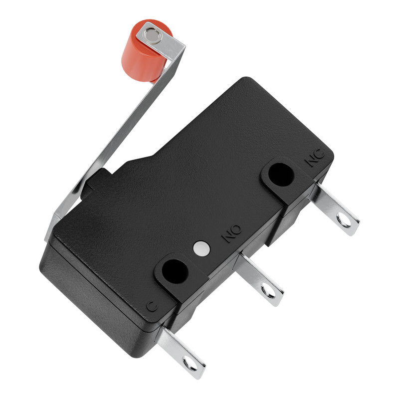SPDT Miniature Limit Switch with Roller Lever (2 pack)