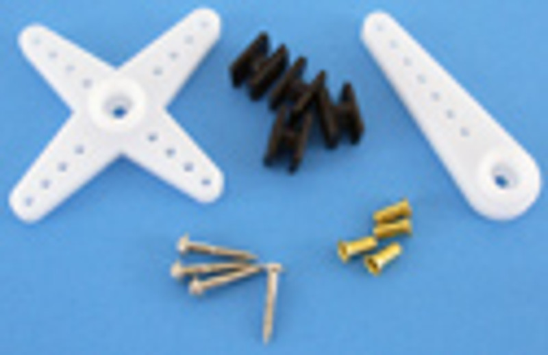 Giant Scale Servo Accessory Pack (D15T Spline)
