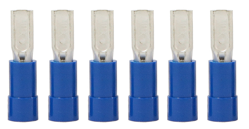 "7/64"" Female Crimp Terminals (6 pack)"