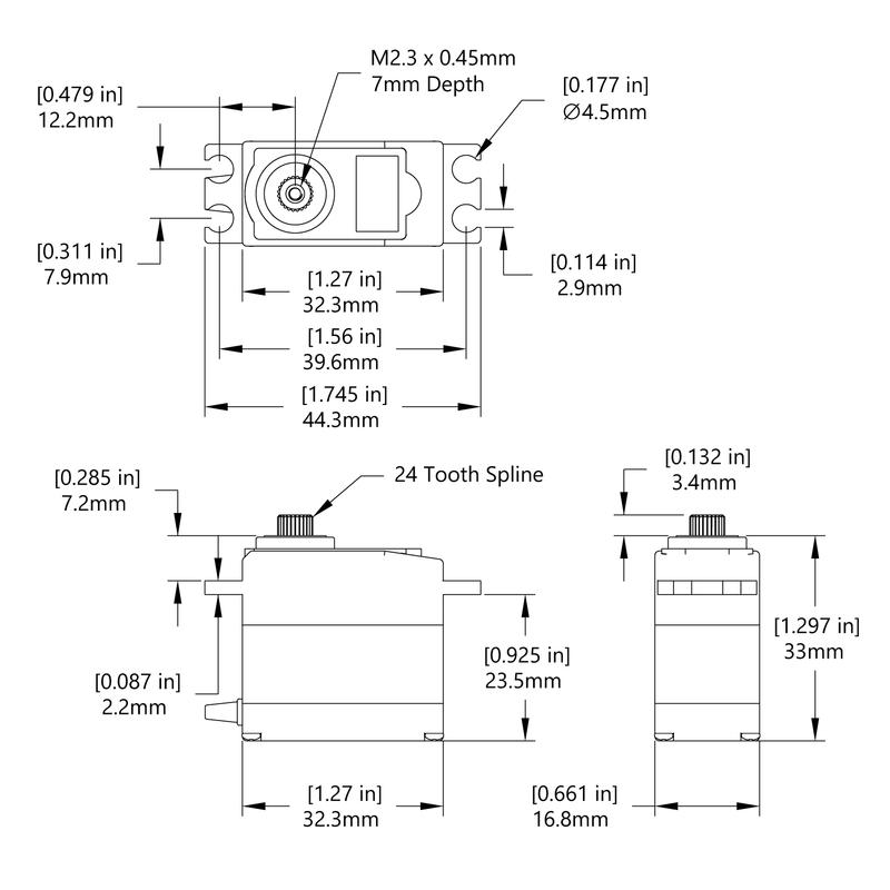 HS-225MG Schematic