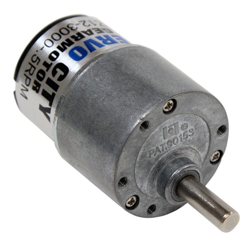 168 RPM Gear Motor