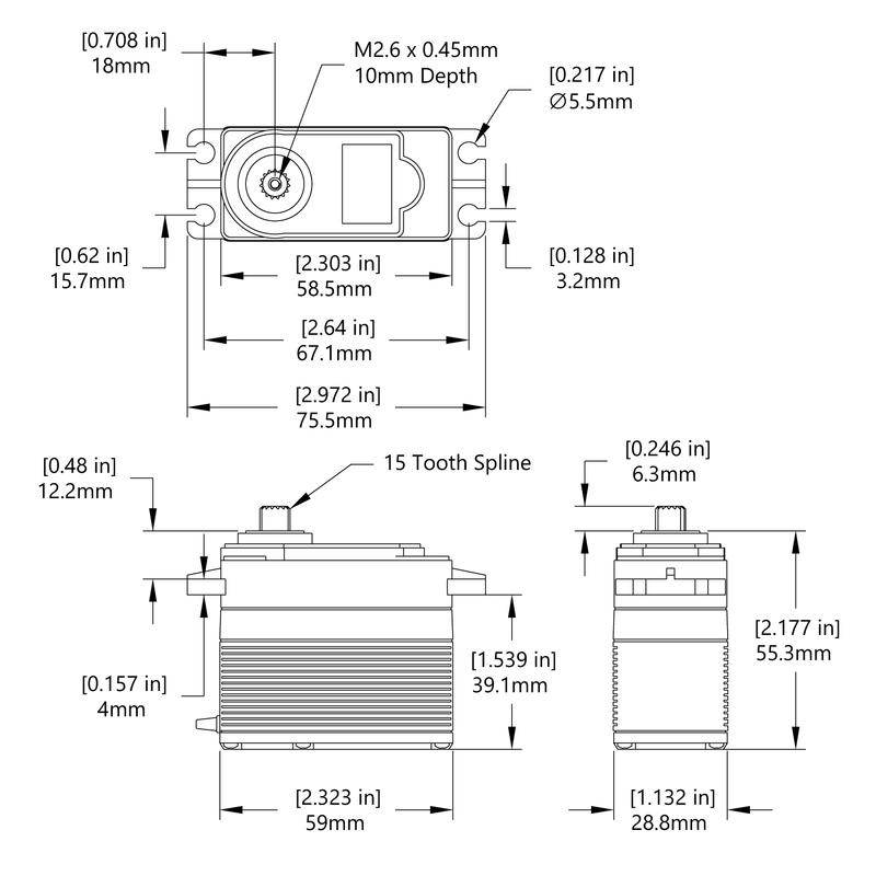 HS-5765MH Schematic