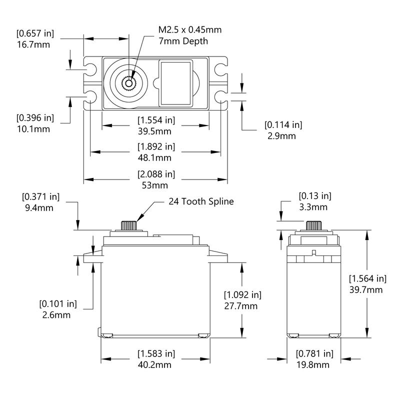 HS-5565MH Schematic