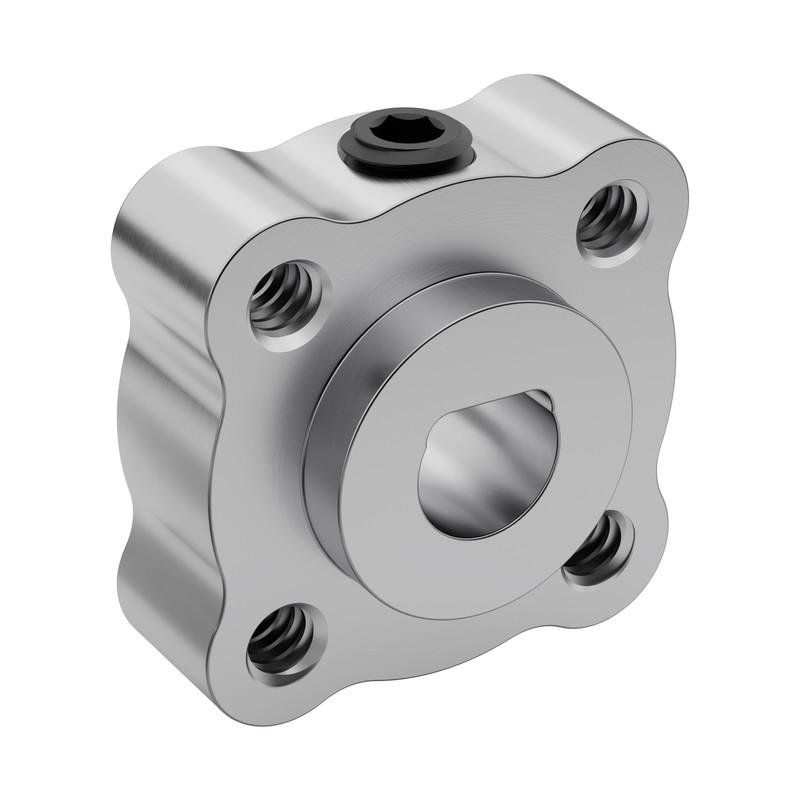 "6mm Bore Set Screw D-Hub (Tapped), 0.770"" Pattern"