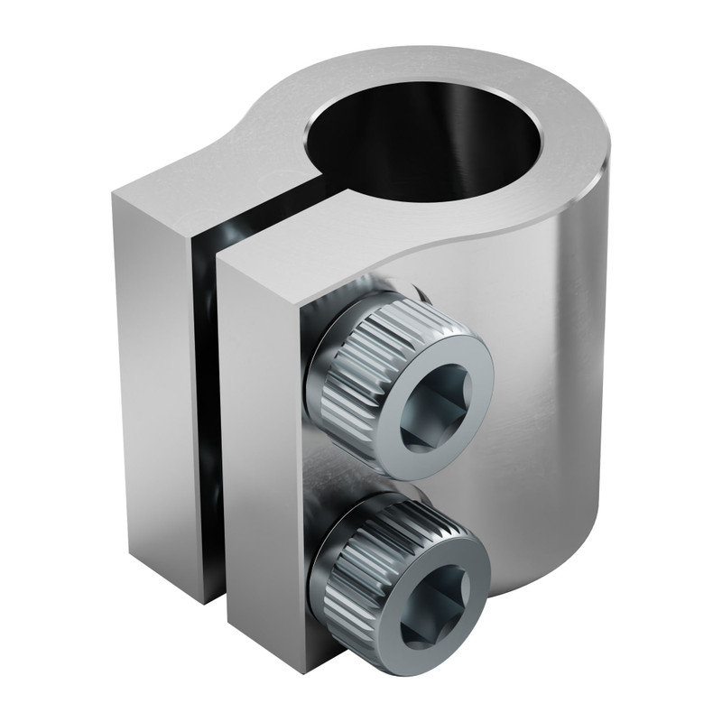 """0.3125"""" to 0.3125"""" Clamping Shaft Coupler 1"""
