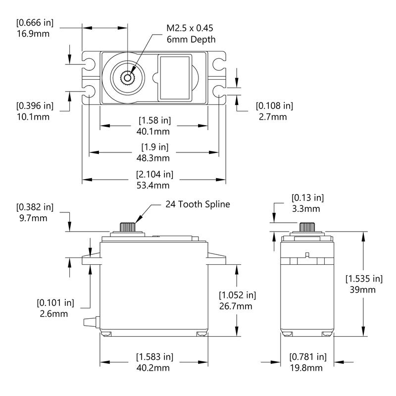 HS-645MG Schematic