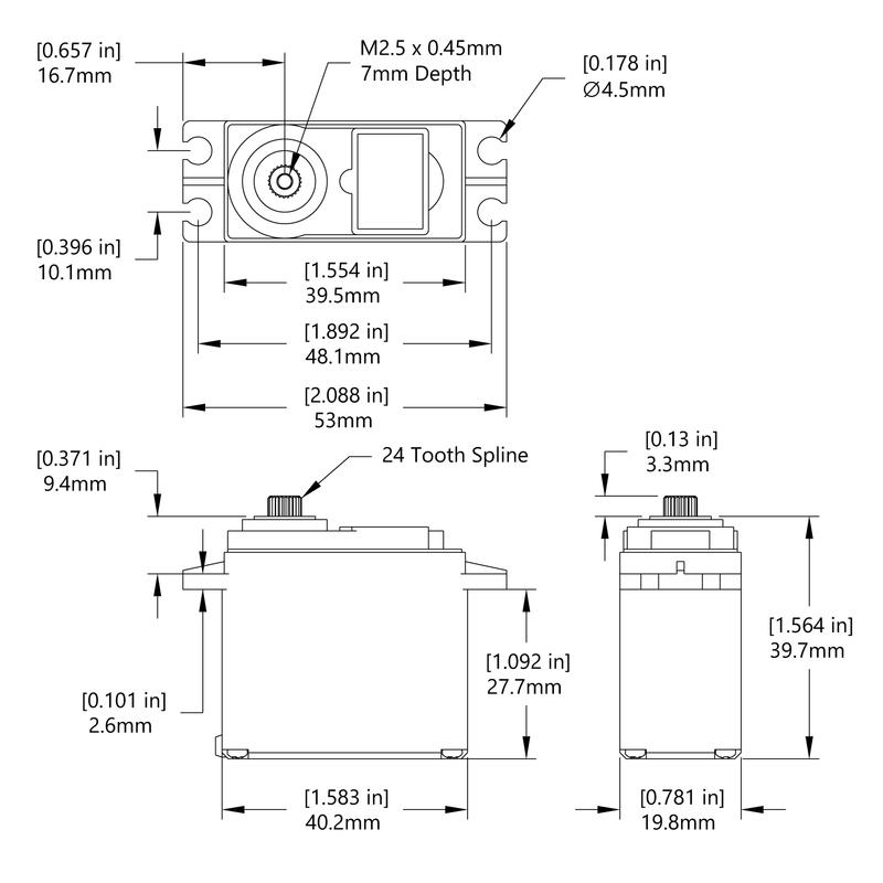 HS-5585MH Schematic