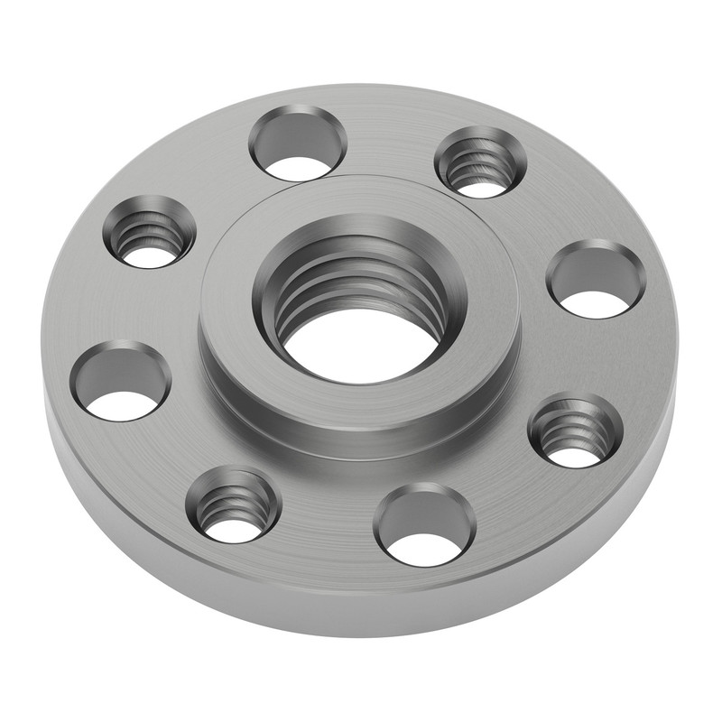 M8 x 1.25mm Round Screw Plate
