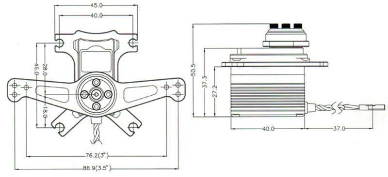 HS-7956SHR Schematic