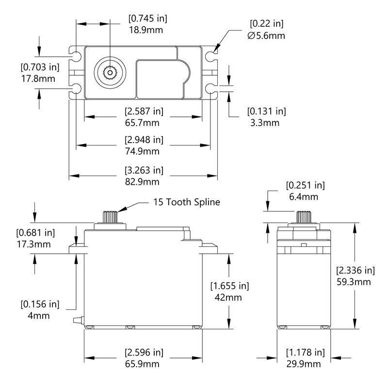 HS-805MG Schematic