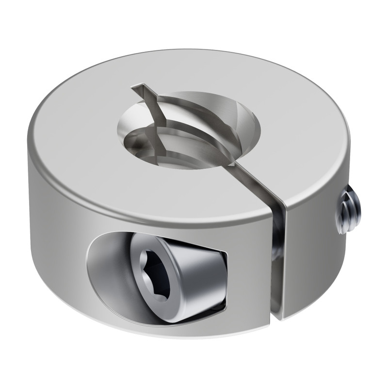 3504 Series Lead Screw Clamping Collar (8mm Lead, 4 Start, 18mm OD, 8mm Length)