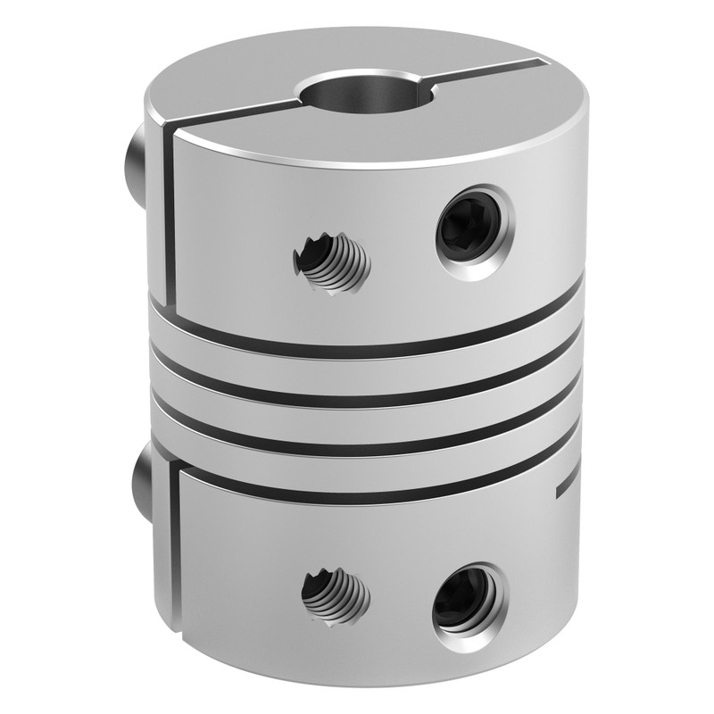 5mm to 6mm Flexible Clamping Shaft Coupler